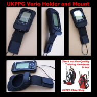 UKPPG Paragliding Vario Holder Mount Fits Most Popular Varios